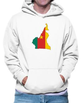 Cameroon - Country Map Color Simple Hoodie
