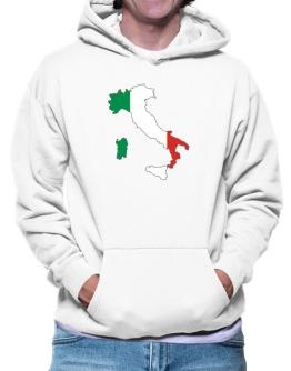 Italy - Country Map Color Simple Hoodie