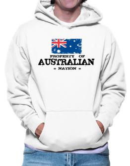 Property of Australian Nation Hoodie