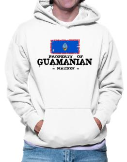 Property of Guamanian Nation Hoodie