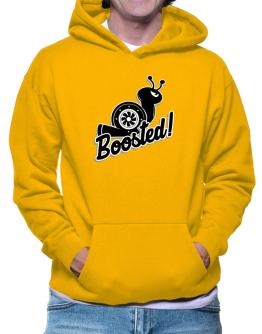 Boosted turbo snail Hoodie