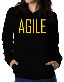 Agile - Simple Women Hoodie