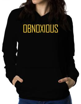 Obnoxious - Simple Women Hoodie