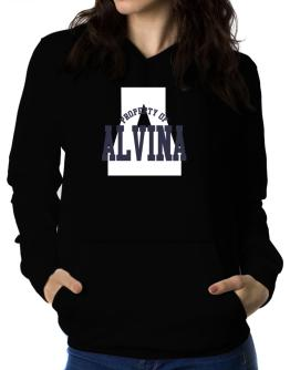 Property Of Alvina Women Hoodie