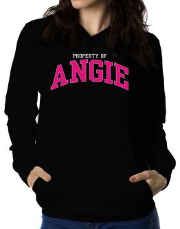 Property Of Angie Women Hoodie