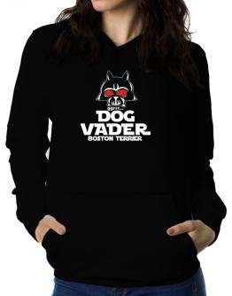 Dog Vader : Boston Terrier Women Hoodie