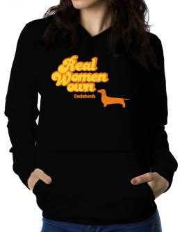Real Woman own Dachshunds Women Hoodie