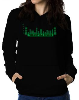 Freestyle Music - Equalizer Women Hoodie