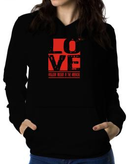 Love Anglican Mission In The Americas Women Hoodie