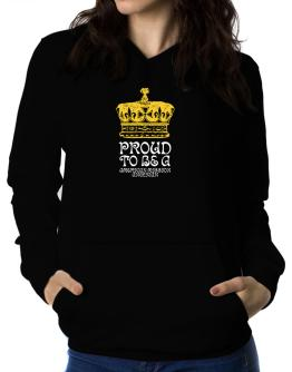 Proud To Be An American Mission Anglican Women Hoodie