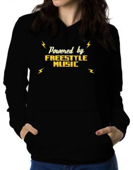 Polera Con Capucha de Powered By Freestyle Music