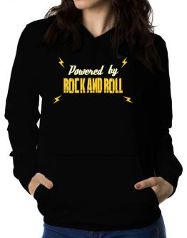 Polera Con Capucha de Powered By Rock And Roll