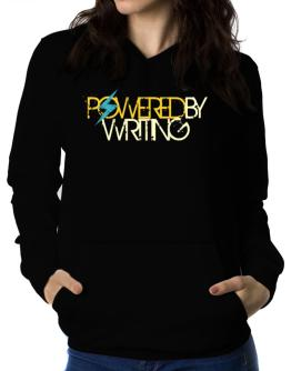 Powered By Writing Women Hoodie