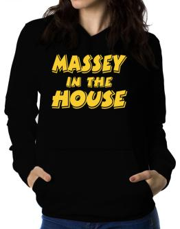 Massey In The House Women Hoodie