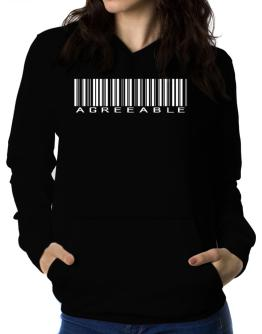 Agreeable Barcode Women Hoodie