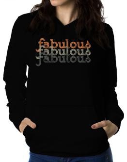 fabulous repeat retro Women Hoodie