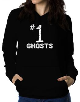 Number 1 Ghosts Women Hoodie