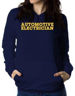 Automotive Electrician Women Hoodie