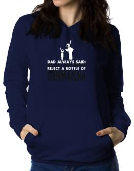 Dad Always Said: Never, But Never Reject A Bottle Of Genmaicha Women Hoodie