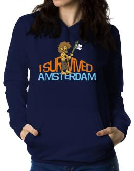 I Survived Amsterdam Women Hoodie