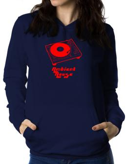 Retro Ambient House - Music Women Hoodie