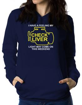 Check Liver light Women Hoodie