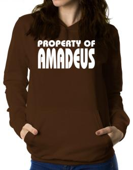 """ Property of Amadeus "" Women Hoodie"
