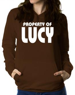 Property Of Lucy Women Hoodie