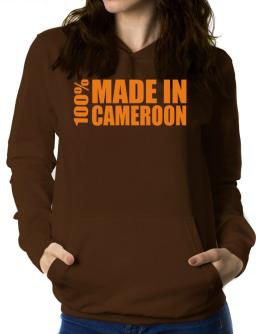 100% Made In Cameroon Women Hoodie