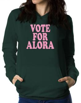 Vote For Alora Women Hoodie