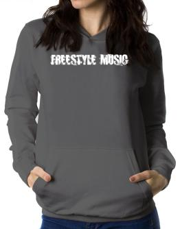 Freestyle Music - Simple Women Hoodie