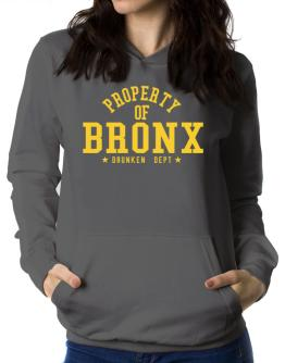 Property Of Bronx - Drunken Department Women Hoodie