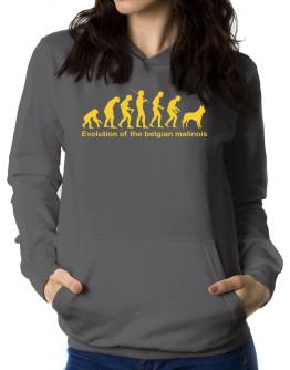 Evolution Of The Belgian Malinois Women Hoodie