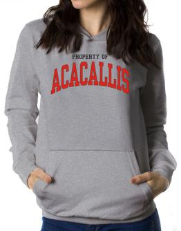Property Of Acacallis Women Hoodie