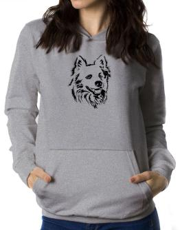 """ Australian Cattle Dog FACE SPECIAL GRAPHIC "" Women Hoodie"