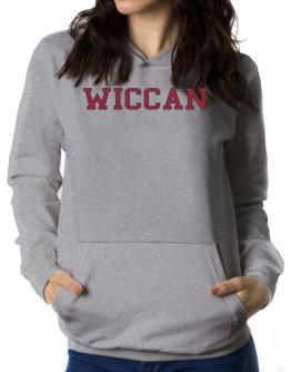 Wiccan - Simple Athletic Women Hoodie