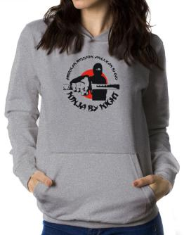 American Mission Anglican By Day, Ninja By Night Women Hoodie