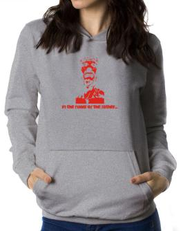 """"""" In the name of the father... - Jesus """" Women Hoodie"""