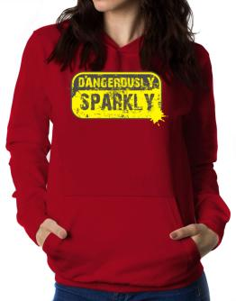 Dangerously Sparkly Women Hoodie