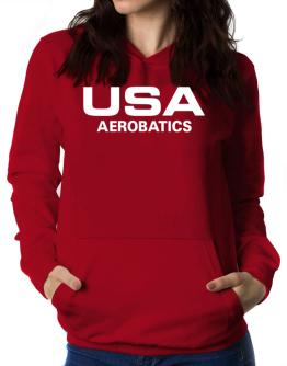 Usa Aerobatics / Athletic America Women Hoodie