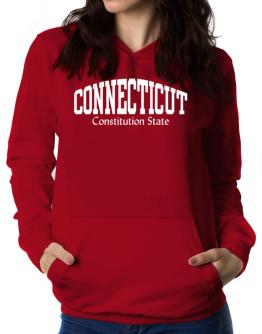 State Nickname Connecticut Women Hoodie