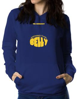 The Oenologist Behind The Belly Women Hoodie