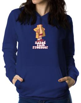 Naked Film Producer Women Hoodie