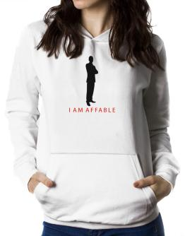 I Am Affable - Male Women Hoodie