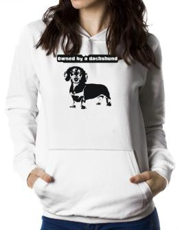 Owned By A Dachshund Women Hoodie