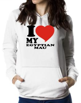 I Love My Egyptian Mau Women Hoodie