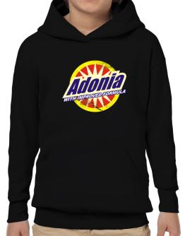 Adonia - With Improved Formula Hoodie-Boys