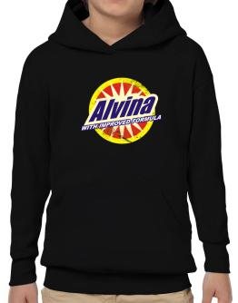 Alvina - With Improved Formula Hoodie-Boys