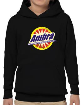 Ambra - With Improved Formula Hoodie-Boys