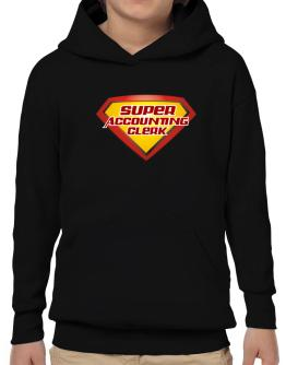 Super Accounting Clerk Hoodie-Boys